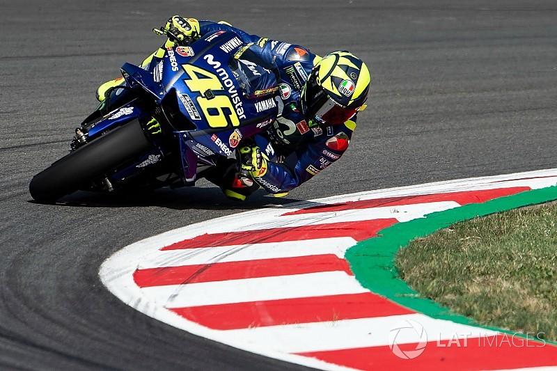 """Rossi """"content"""" de son podium, mais veut """"plus de rythme"""""""