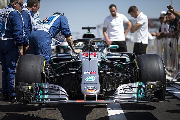 Formule 1 Actualités Mercedes pourrait ne pas avoir son nouveau moteur en France