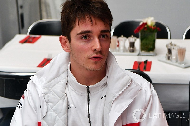 """Leclerc: """"Bianchiért is versenyeztem…"""""""