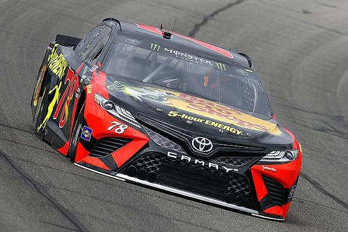 Martin Truex Jr. dominates Stage 2 at Fontana