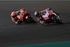 MotoGP Qatar: Dovizioso tiga kali kalahkan Marquez