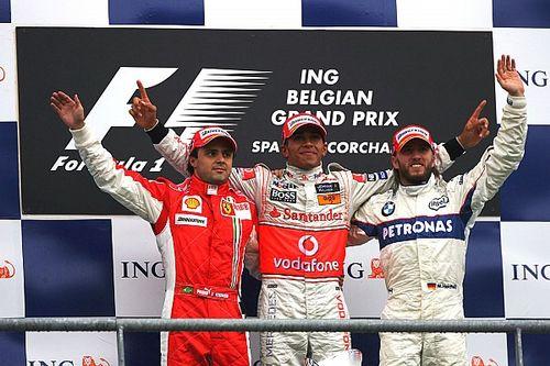 GALERIA: Relembre os últimos vencedores do GP da Bélgica