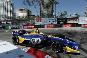 Long Beach IndyCar: Rossi leads Dixon in raceday warm-up
