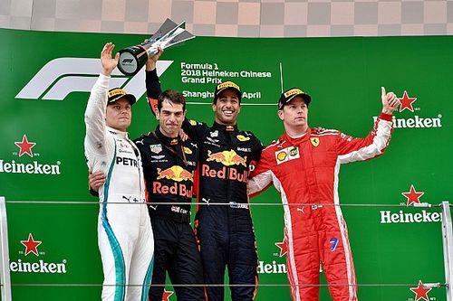 Alle Formel-1-Sieger des GP China in Schanghai