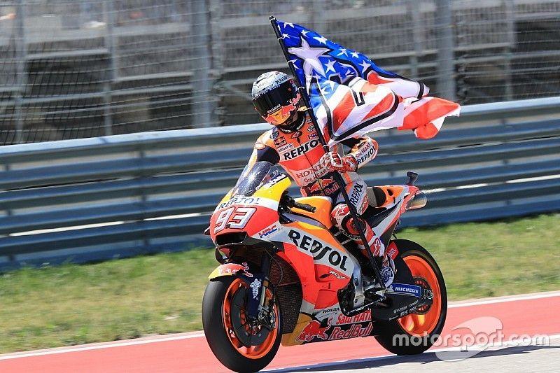 Márquez corre atrás de 13ª vitória seguida nos EUA no GP das Américas