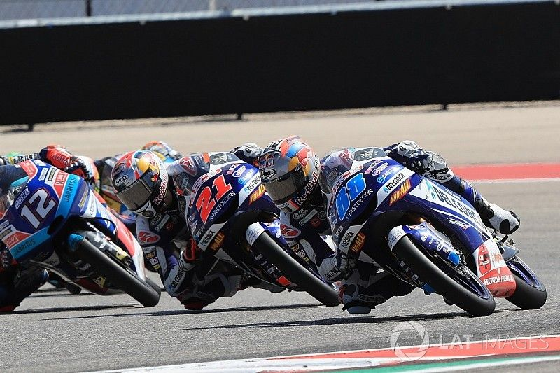 Fotogallery: Jorge Martin doma gli italiani nella Moto3 ad Austin