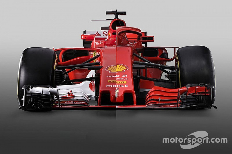 Comparación: Ferrari SF70H vs. SF71H