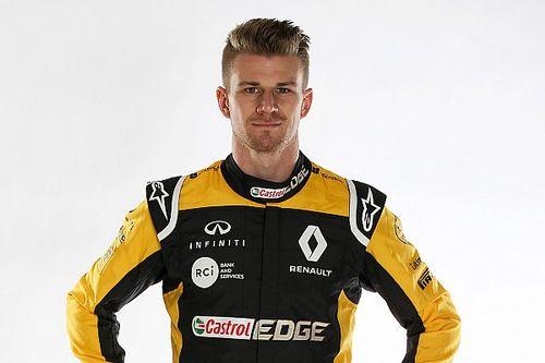 """Hulkenberg quer que Renault seja a """"melhor do resto"""" em 2018"""