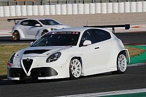 Morbidelli, Giovanardi e Gleason provano le Alfa Romeo TCR a Monza
