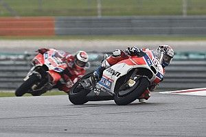 Dovizioso did not ask for Ducati team orders in Sepang