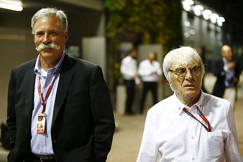 Carey critica la gestión de Ecclestone en la F1
