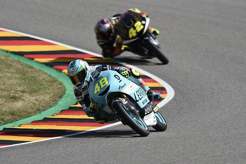 Moto3 Duitsland: Dalla Porta verrast met toptijd in laatste training