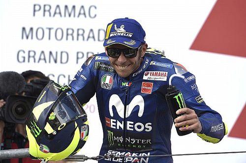 Rossi elégedett az időmérős eredményével