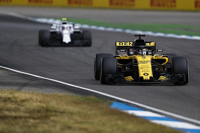 Fünfter beim Heimrennen: Renault lobt Hülkenberg