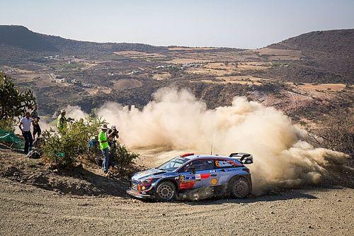 Sordo lidera la primera parte del viernes del Rally de México