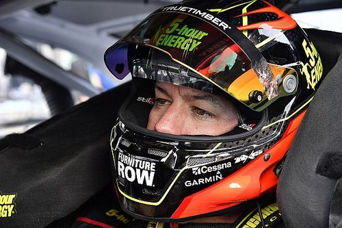 "Truex fights back for second in the 600: ""It was just a battle"""
