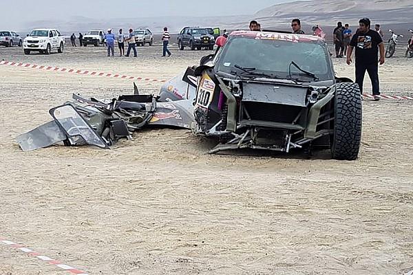 """Новачок """"Дакара"""" визнав провину у шаленій аварії"""
