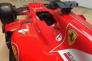 Ferrari: rosso più scuro, un tocco di grigio e niente bianco?