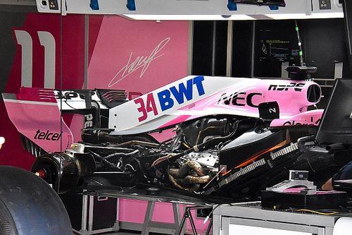 Force India: ecco il segreto della VJM11 con il serbatoio triangolare ai lati