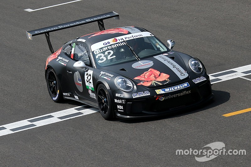 """Carrera Cup Italia: a Vallelunga le Porsche """"volano"""" già nei test"""