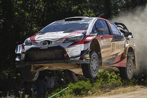 Tanak quiere ganar el duelo entre los Toyota y golpea primero en Finlandia