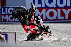 Statistik akhir kecelakaan pembalap MotoGP 2017
