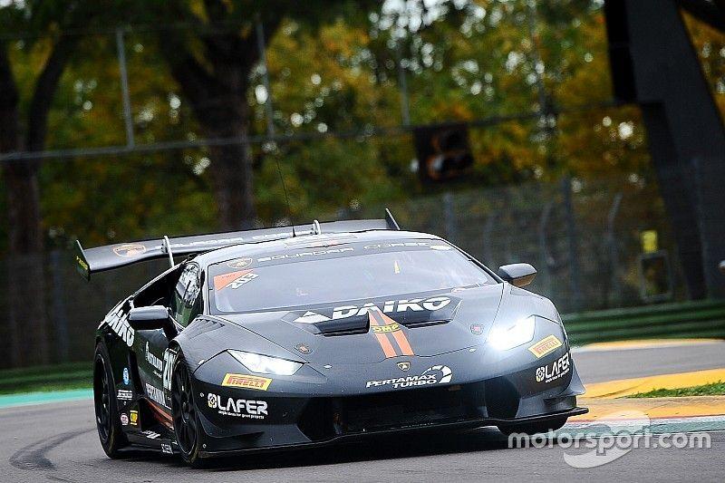 Cipriani e Sowery sulla seconda Lamborghini della Lazarus nel GT Open