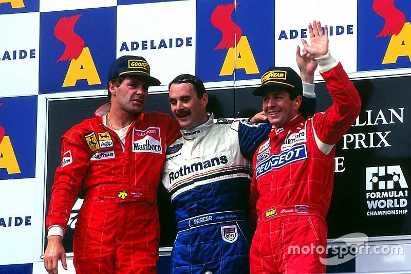 F1: Mansell 'viaja' e deseja bom GP da Austrália pelo Twitter