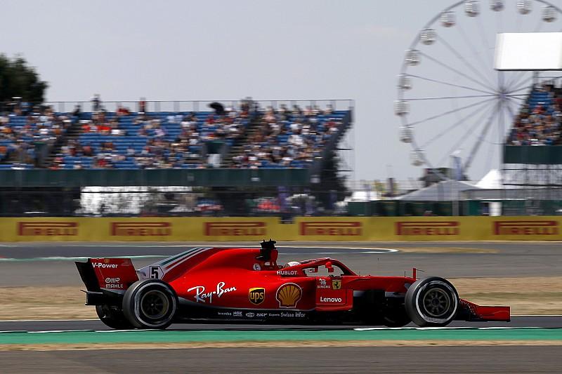 英国大奖赛FP2:维特尔力压汉密尔顿,维斯塔潘再遭打击