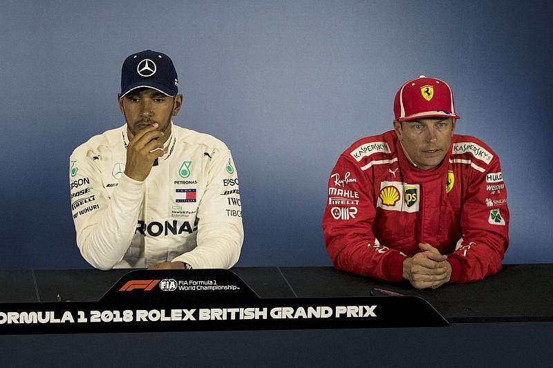 Räikkönen-Unfall: Hamilton rückt von Verschwörungstheorie ab