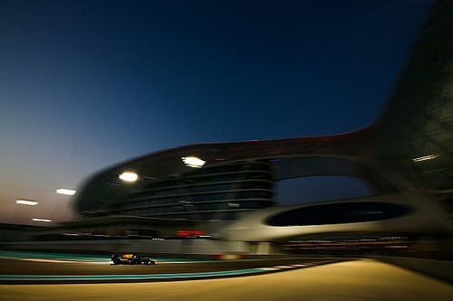 Albon ends F2 Abu Dhabi test on top by 0.005s