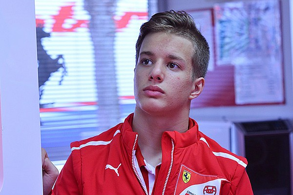 Gianluca Petecof entra a far parte della Ferrari Driver Academy