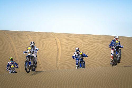 Yamaha, con cuatro pilotos y Arcarons para luchar por el Dakar