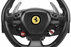 Sim racing Elemzés Ferrari-kormánnyal támadhatunk szimulátorozás közben