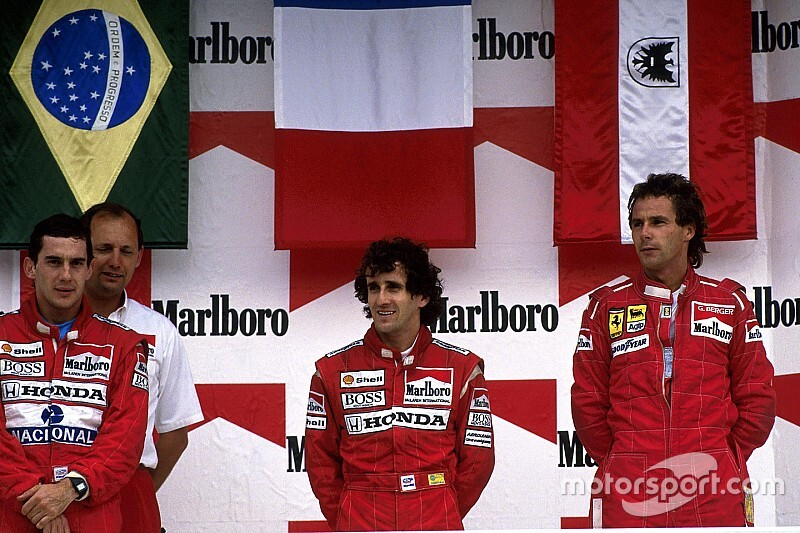 Все победители и призеры Гран При Мексики с 1986 года
