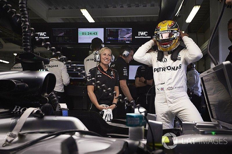 Hamilton admet que la première ligne n'était pas accessible