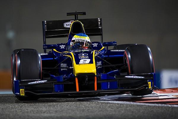 Abu Dhabi F2: Rowland, 2017'deki üçüncü zaferini kazandı