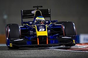 FIA F2 Reporte de la carrera Oliver Rowland gana la penúltima carrera de F2 en Abu Dhabi
