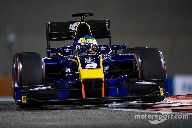 Rowland maestro di strategia trionfa nella Feature Race di Abu Dhabi
