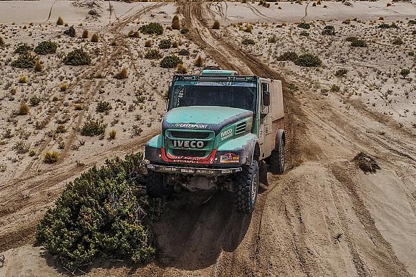 Dakar Etappeverslag Dakar 2018: Van Genugten wint tiende etappe, Villagra nadert Nikolaev
