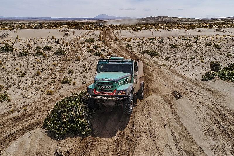 Dakar, Camion, Tappa 10: Van Genugten vince, Villagra dimezza il distacco!