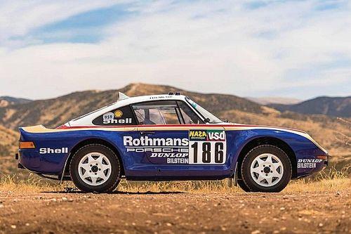 Une Porsche 959 du Dakar mise aux enchères