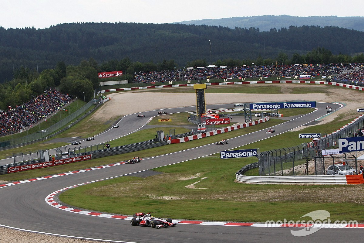 F1 to live stream Nurburgring race on YouTube