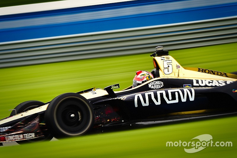 Challenges and conundrums on Indy's road course