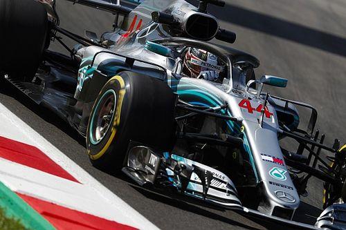 FP3 GP Spanyol: Terhenti bendera merah, Hamilton tetap teratas