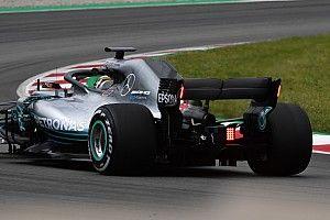 Los coches de F1 tendrán luces de lluvia en el alerón trasero en 2019