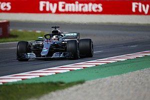 Hamilton pense que les températures ont favorisé Mercedes