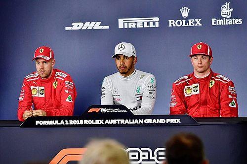 """Kimi """"ataca"""" novamente e faz Vettel e Hamilton gargalharem"""