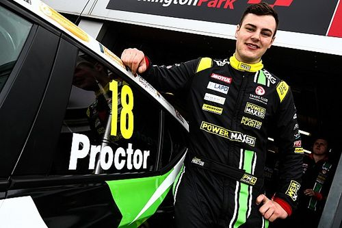 Brands Hatch BTCC: Proctor scores Vauxhall's first win since 2012