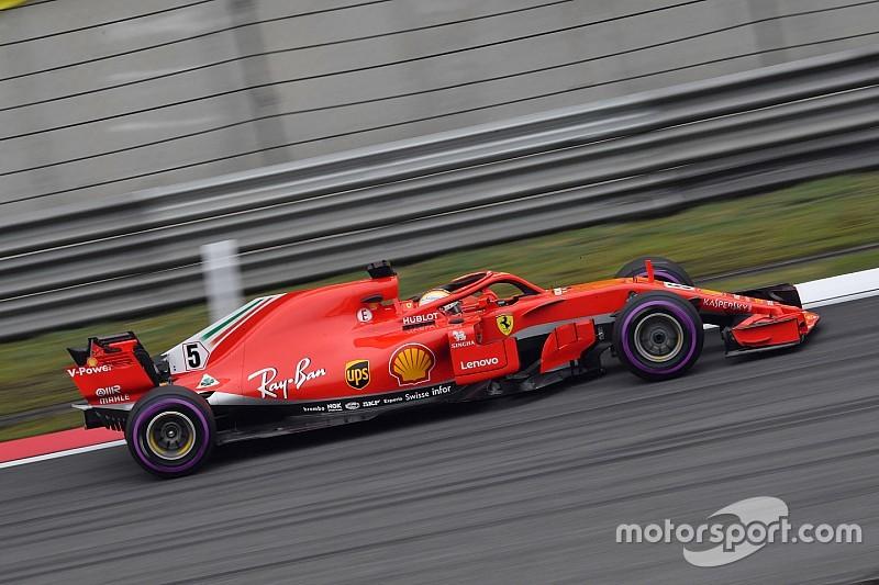 中国大奖赛FP3:法拉利占据前二
